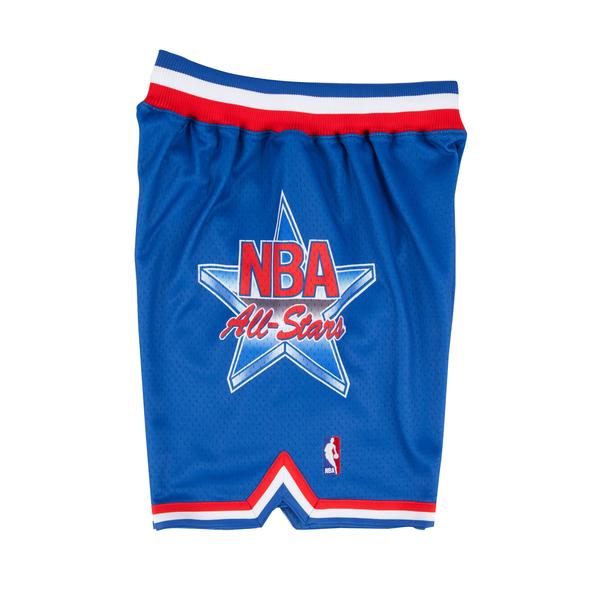 92bb6fb6a97 Mitchell & Ness 1993 NBA All Star Game East Authentic Shorts in Blue