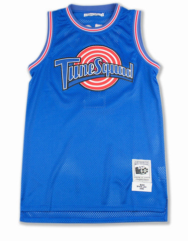 "Tune Squad ""Bugs"" Basketball Jersey in Blue"