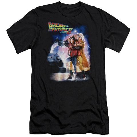 Back To The Future Ii - Poster Premium Canvas Adult Slim Fit 30/1