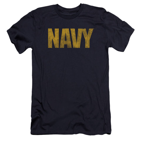 Navy - Logo Premium Canvas Adult Slim Fit 30/1