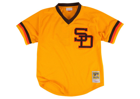 Tony Gwynn 1982 Authentic Mesh BP Jersey San Diego Padres
