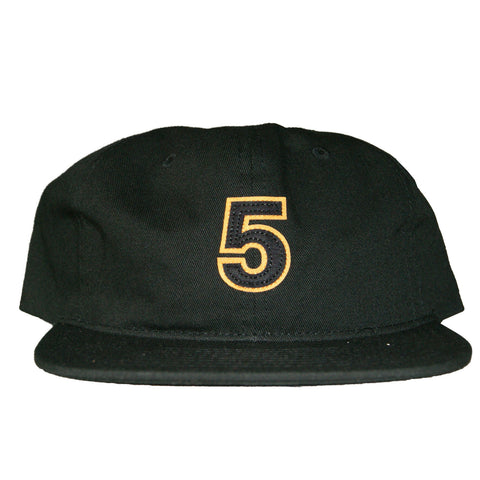 Undefeated 5 Strapback In Black