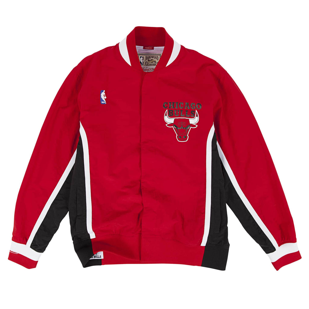 Mitchell & Ness Chicago Bulls 1992-93 Authentic Warm Up Jacket in Red