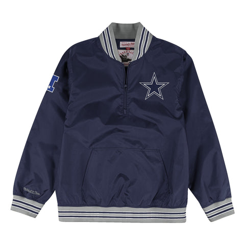 1/4 Zip Nylon Pullover Dallas Cowboys