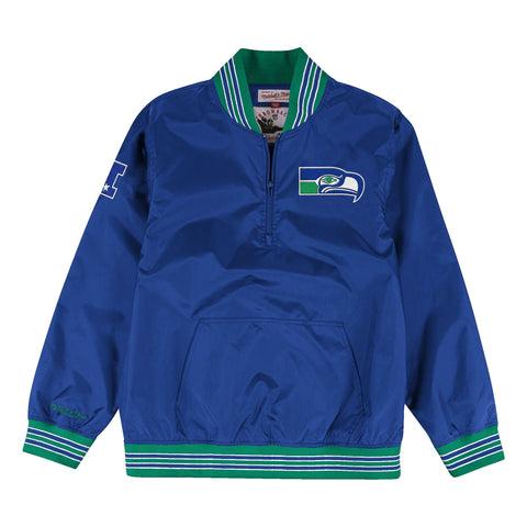 1/4 Zip Nylon Pullover Seattle Seahawks
