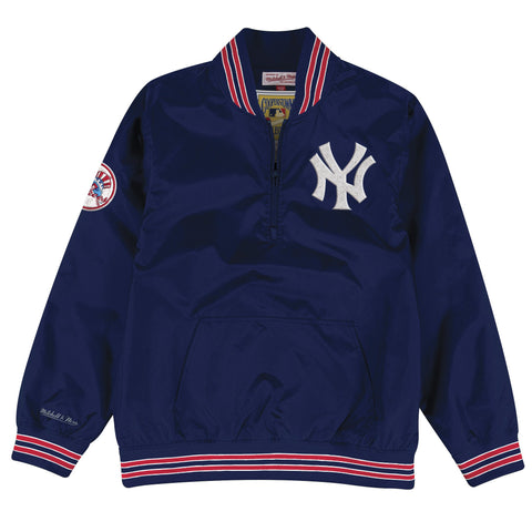 1/4 Zip Nylon Pullover New York Yankees