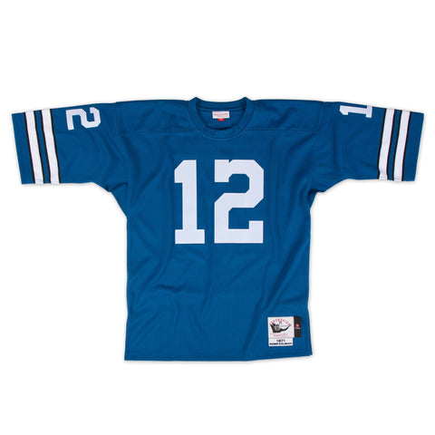 bc3ffe74f Mitchell   Ness Dallas Cowboys 1971 Blue Roger Staubach Authentic Throwback  Jersey