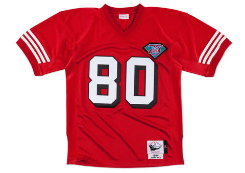 Mitchell & Ness San Francisco 49Ers 1994 Jerry Rice Authentic Throwback Jersey