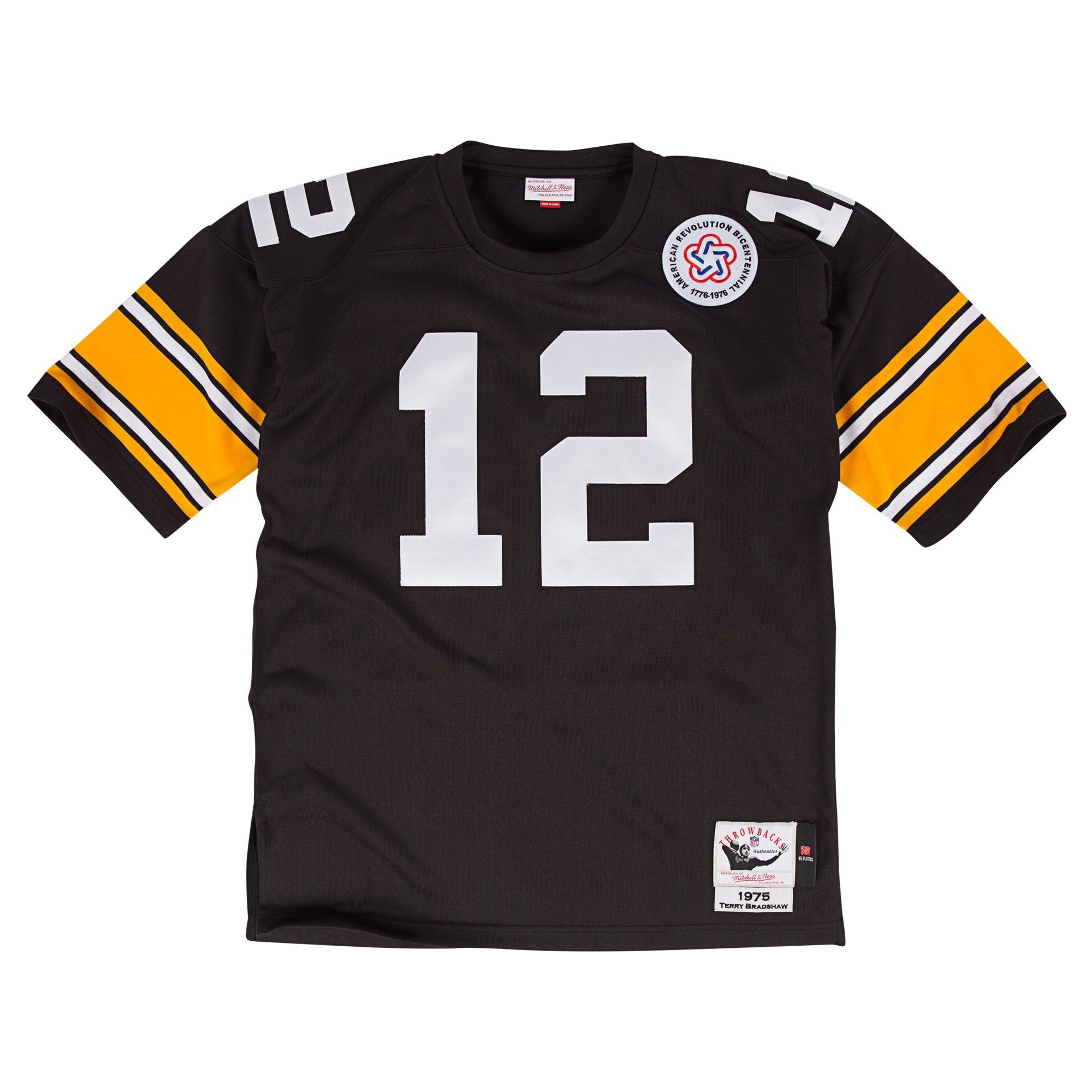 5ea47c48601 Terry Bradshaw Pittsburgh Steelers Mitchell & Ness Authentic 1975 NFL Jersey