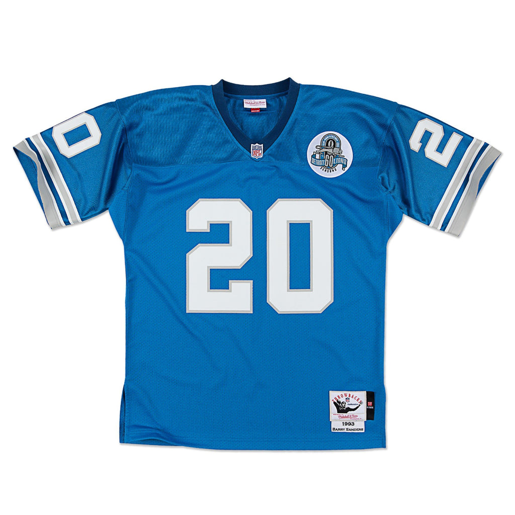Barry Sanders Detroit Lions Mitchell & Ness Authentic 1993 Blue NFL Jersey