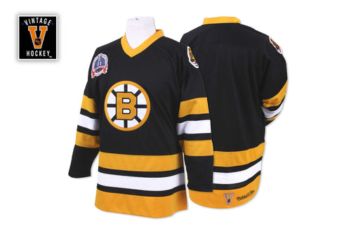 Mitchell & Ness 1989-90 Authentic Jersey Boston Bruins In Black