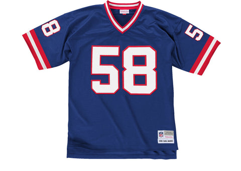 Mitchell & Ness Carl Banks 1986 Replica Jersey New York Giants In Royal