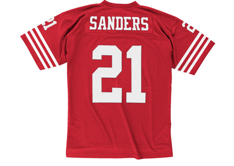 Mitchell & Ness Deion Sanders 1994 Replica Jersey San Francisco 49ers In Scarlet