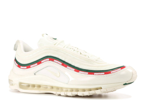 "NIKE MENS AIR MAX 97 OG/ UNDFTD ""UNDEFEATED"" WHITE"