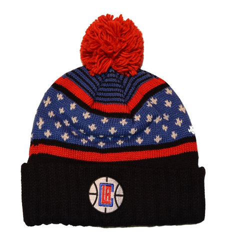 Mitchell & Ness Los Angeles Clippers Highland Beanie In Multi