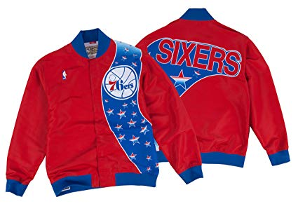 Mitchell & Ness Philadelphia 76ers 1993-94 NBA Authentic Warm-Up Jacket