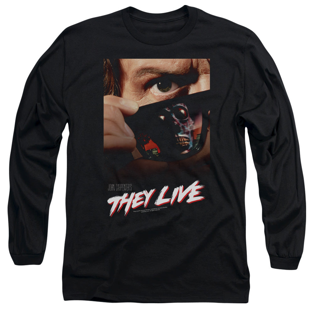 They Live - Poster Long Sleeve Adult 18/1