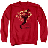 Bruce Lee - Immortal Dragon Adult Crewneck Sweatshirt