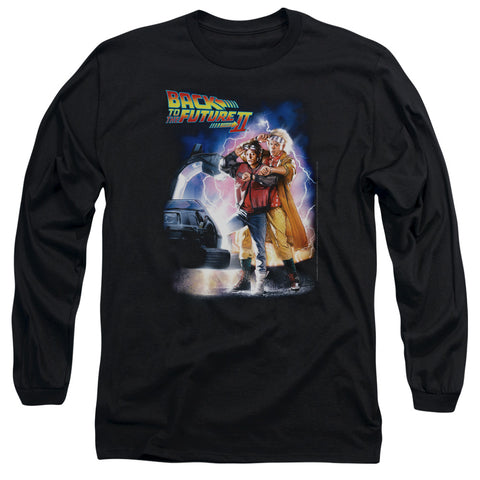 Back To The Future Ii - Poster Long Sleeve Adult 18/1
