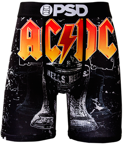 PSD ACDC Hells Bells Boxer Briefs In Black