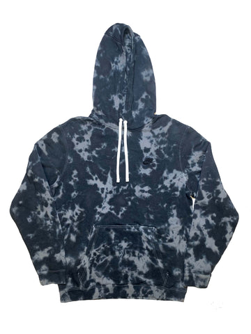 "Nike X Jeffersons Custom Tonal Tie Dye Washed Hoodie ""BLACK"""