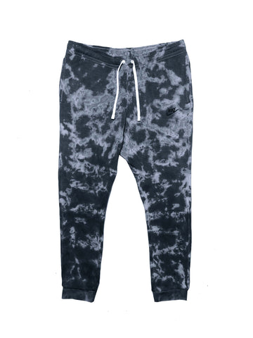 "Nike X Jeffersons Custom Tonal Tie Dye Washed Jogger Sweatpant ""BLACK"""