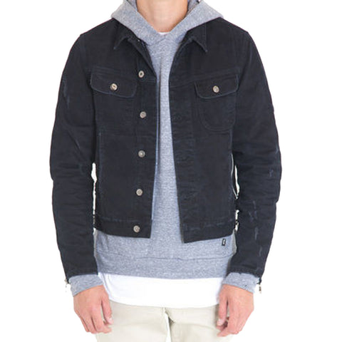 Black Phantom Denim Jacket