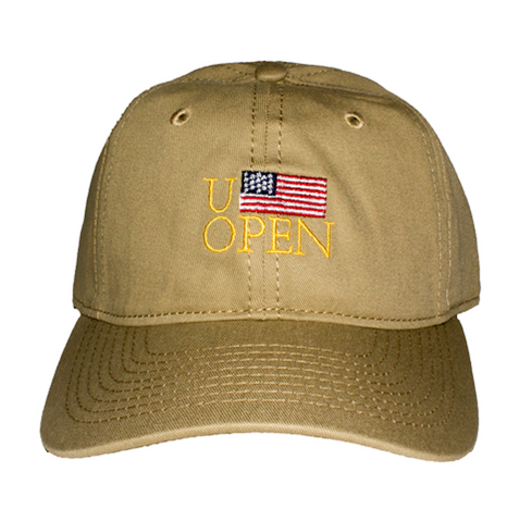 Diem U-Open Dad Hat In Tan