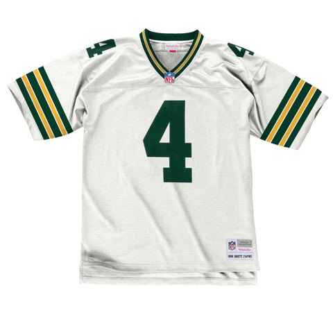 Mitchell & Ness Brett Favre 1996 Replica Jersey Green Bay Packers In White