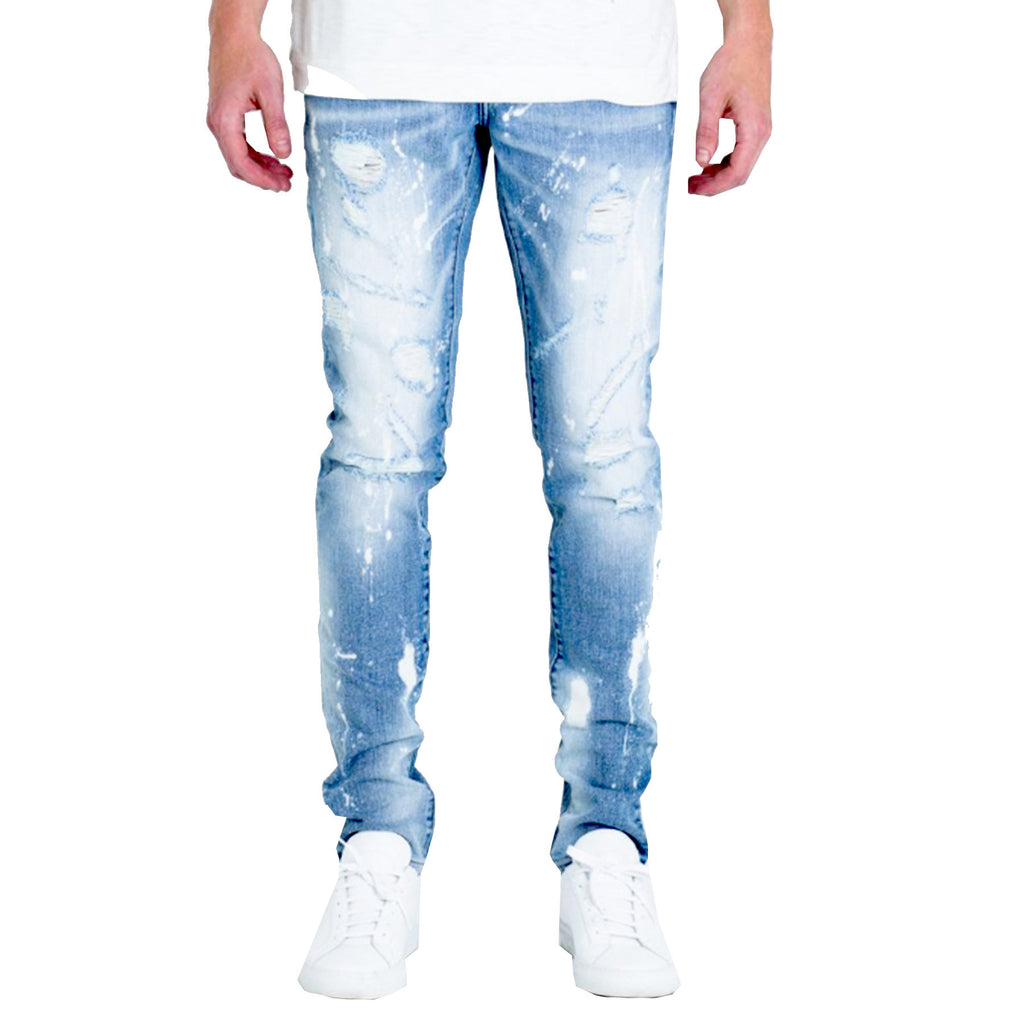 Embellish NYC Hazel Jeans In Blue