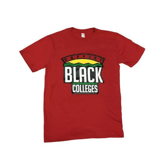 Originals Support Black Colleges Tour T-Shirt in Red