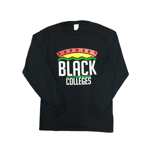 Originals Support Black Colleges Tour Longsleeve T-Shirt in Black