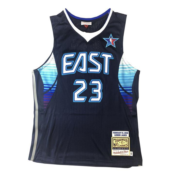 43bd8661deb Mitchell   Ness 2009 NBA All Star Game East Lebron James Authentic Jersey