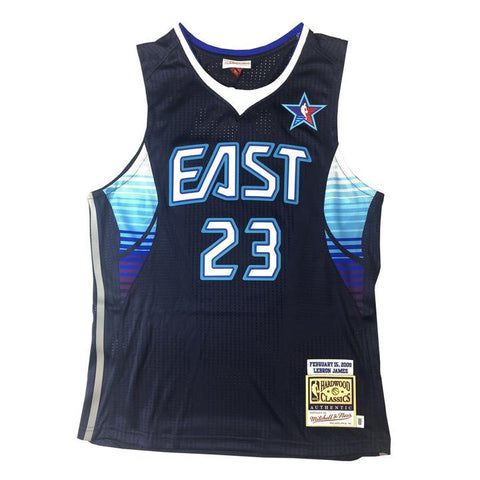 cda38a4d8014 Mitchell   Ness 2009 NBA All Star Game East Lebron James Authentic Jersey