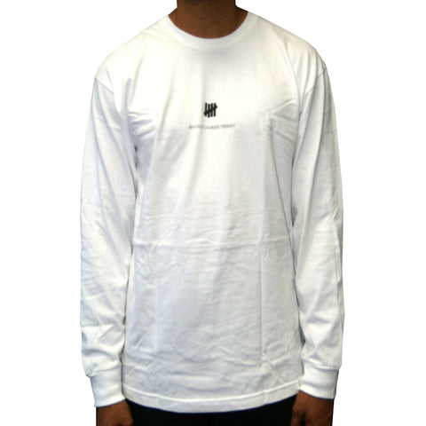 Undefeated Officially Licensed Product  Long Sleeve Tee In White