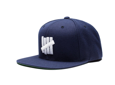Undefeated 5 Strike HO16 Snapback In Navy