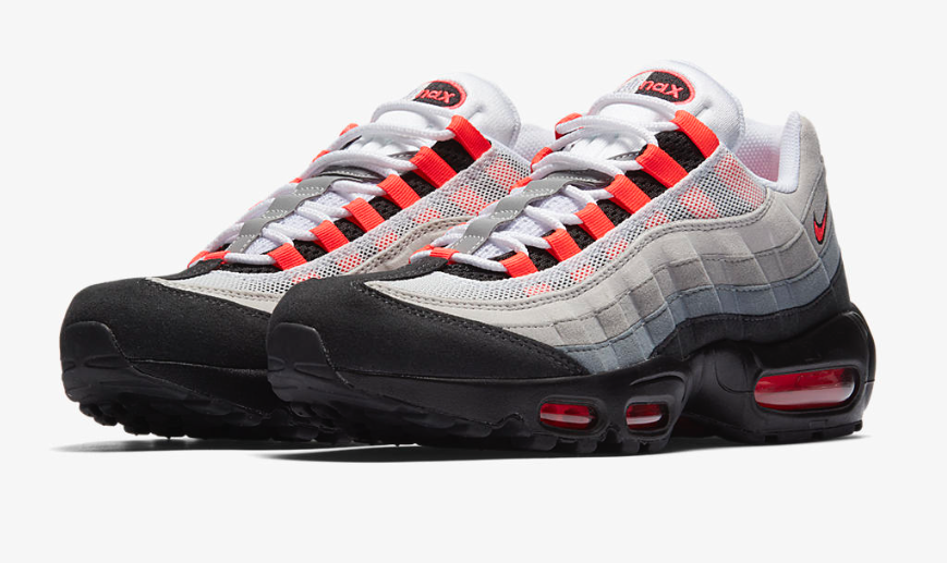 new product cade0 67484 Nike Air Max 95 Solar Red (2018)
