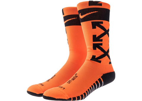 Nikelab x OFF-WHITE FB Socks Orange