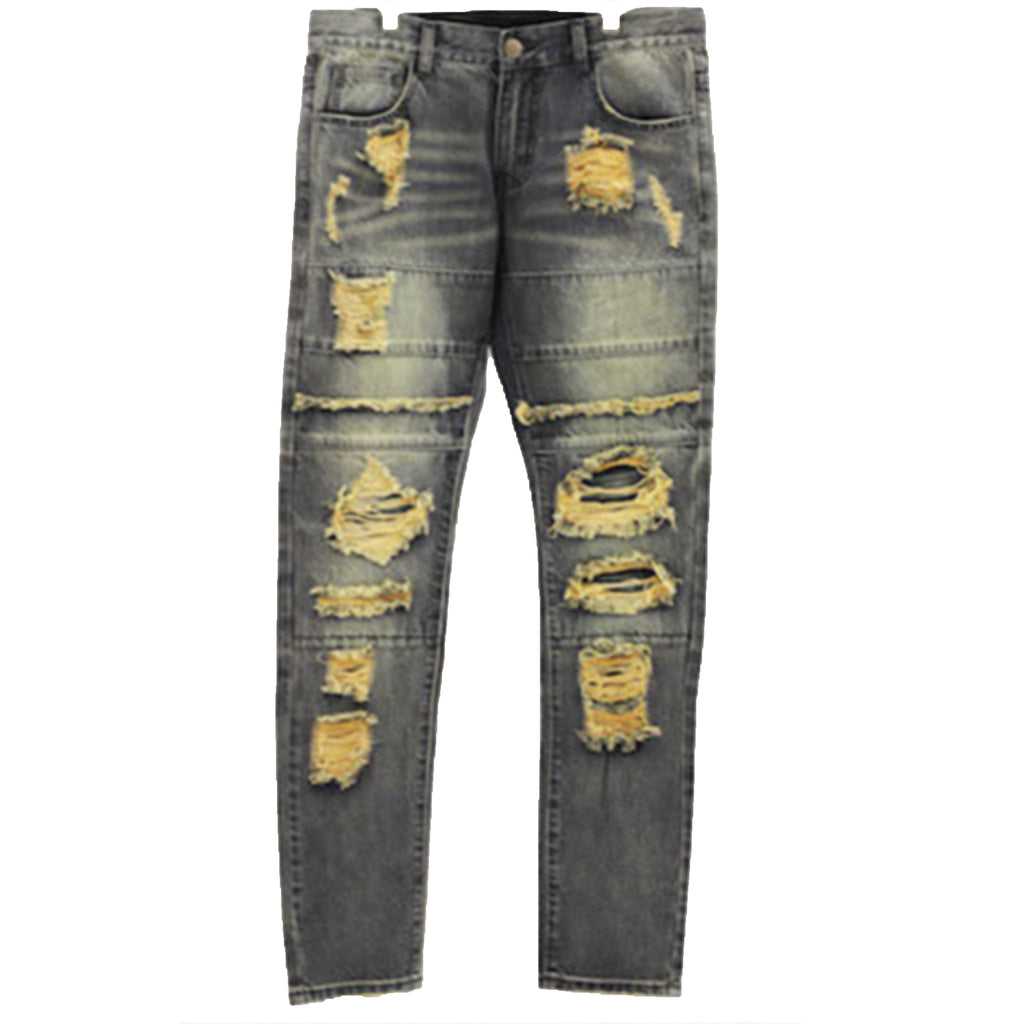 CRYSP ROD Patch Distressed Jeans