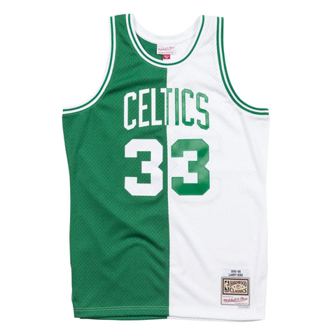 Mitchell & Ness Split Home & Away Swingman Jersey Boston Celtics 1985-86 Larry Bird