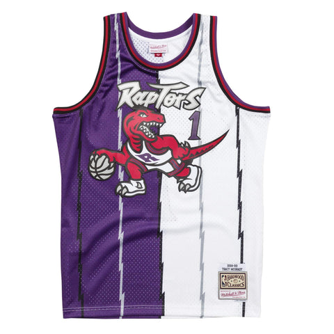 Mitchell & Ness Split Home & Away Swingman Jersey Toronto Raptors 1998-99 Tracy McGrady