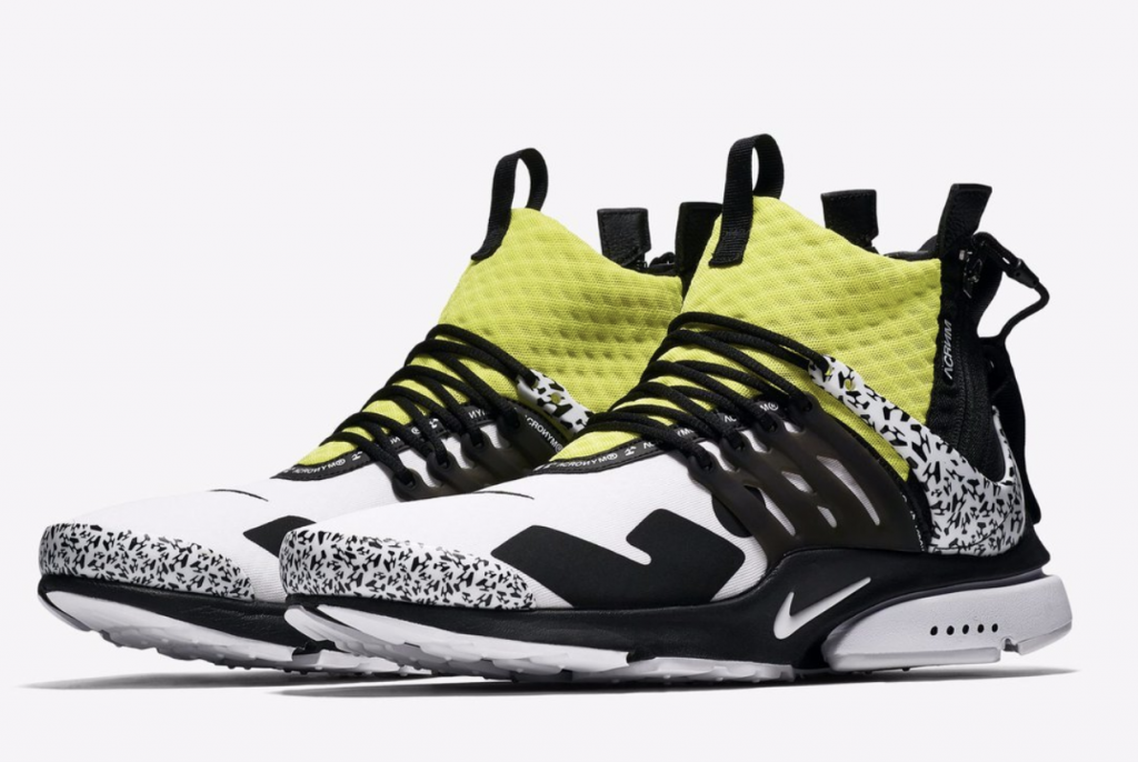timeless design 6f636 7de85 Nike Air Presto Mid Acronym - Dynamic Yellow