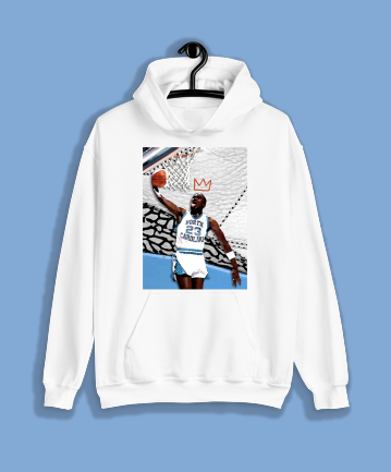 """YOUNG KING"" Pullover Hoodie (Available in Black &White)"