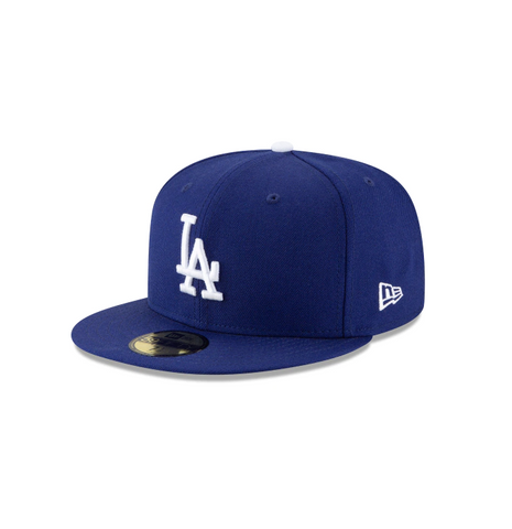 "New Era Los Angeles Dodgers ""GREY BOTTOM"" 59 Fifty Fitted Cap"
