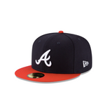 "New Era Atlanta Braves ""GREY BOTTOM"" 59Fifty Fitted Cap"