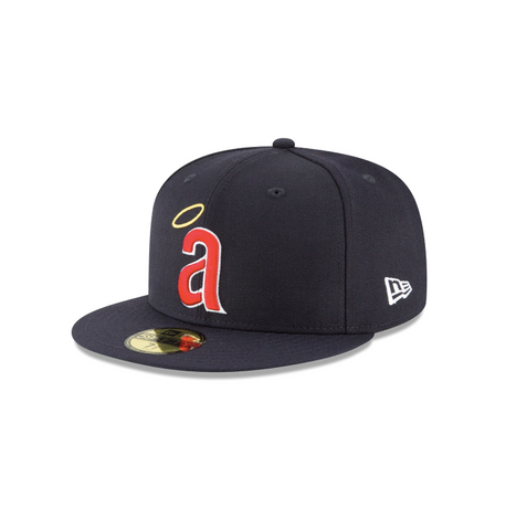 "New Era Los Angeles Angels ""GREY BOTTOM"" 59Fifty Fitted Cap"