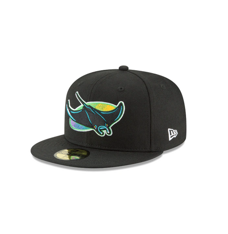 "New Era Tampa Bay Devil Rays ""GREY BOTTOM"" 59Fifty Fitted Cap"