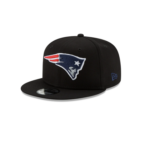 New Era New England Patriots NFL 9Fifty Snapback in Black