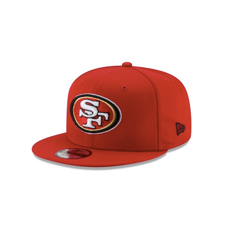 New Era San Francisco 49ers NFL 9Fifty Snapback in Red