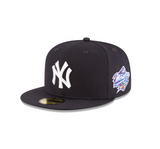 "New Era ""New York Yankees"" 1998 World Series Grey Bottom 59Fifty Fitted Hat"